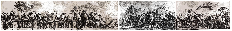 Adoration des Mages de Michel Dorigny d'après Simon Vouet