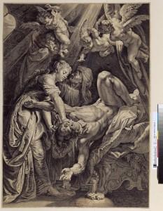 Cornelis Galle I (1576-1650). Judith et Holopherne d'après Rubens. vers 1630. Eau-forte et burin. CC-27 (1)-Fol