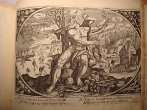 série des saisons éditée par Thomas de Leu, copie Adrien Collaert d'après Martin de Vos