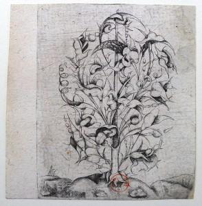 Cosse-de-pois anonyme (Bimbenet-Fuhring, 17). Vers 1620-1625