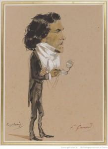 Delacroix par Eugène Giraud