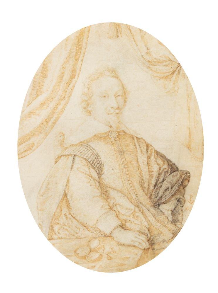 Crispin II de Passe, Portrait de Jacob Edelheer, BnF, Estampes, Réserve B12 (8)-boîte écu