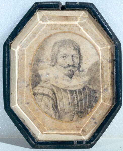 Michel Lasne, Autoportrait, Issoudun, musée de l'hospice Saint-Roch